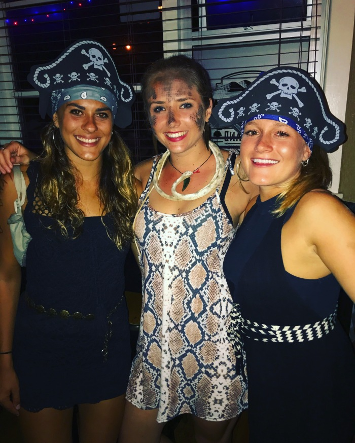 Two pirates and a python walk into a bar...